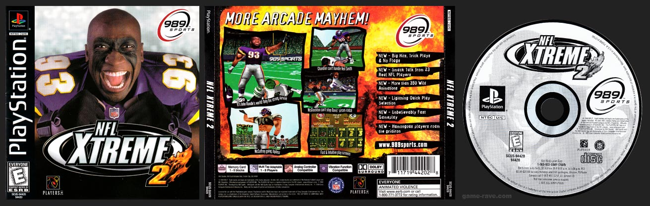 PSX NFL Xtreme 2 Release