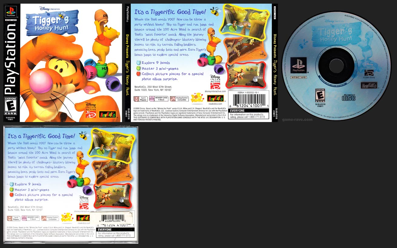 PlayStation Tigger's Honey Hunt