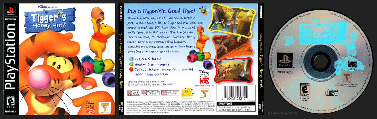 PlayStation Tigger's Honey Hunt Take 2 Published