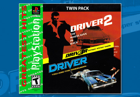 Driver / Driver 2 Twin Pack
