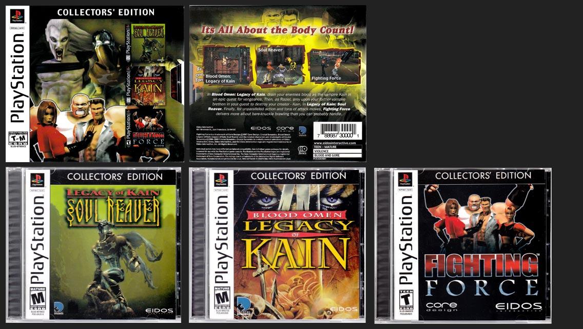 PlayStation Eidos Collector's Edition