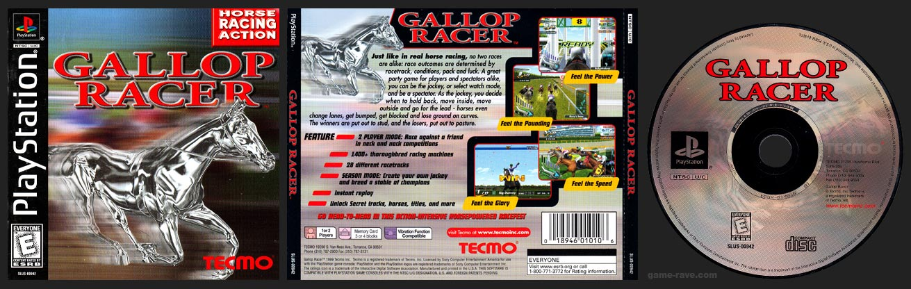 PlayStation Gallop Racer