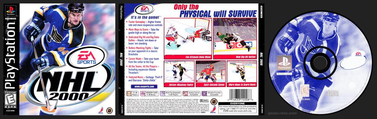 PlayStation NHL 2000 Misprint