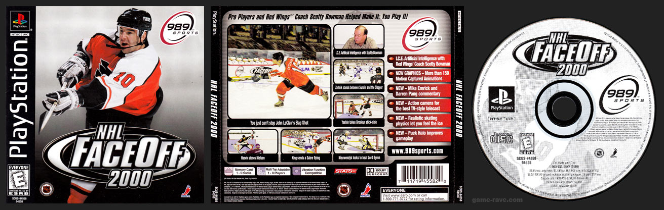 PlayStation NHL Face Off 2000