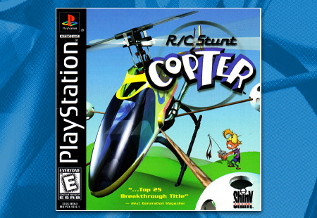 PlayStation R/C Stunt Copter