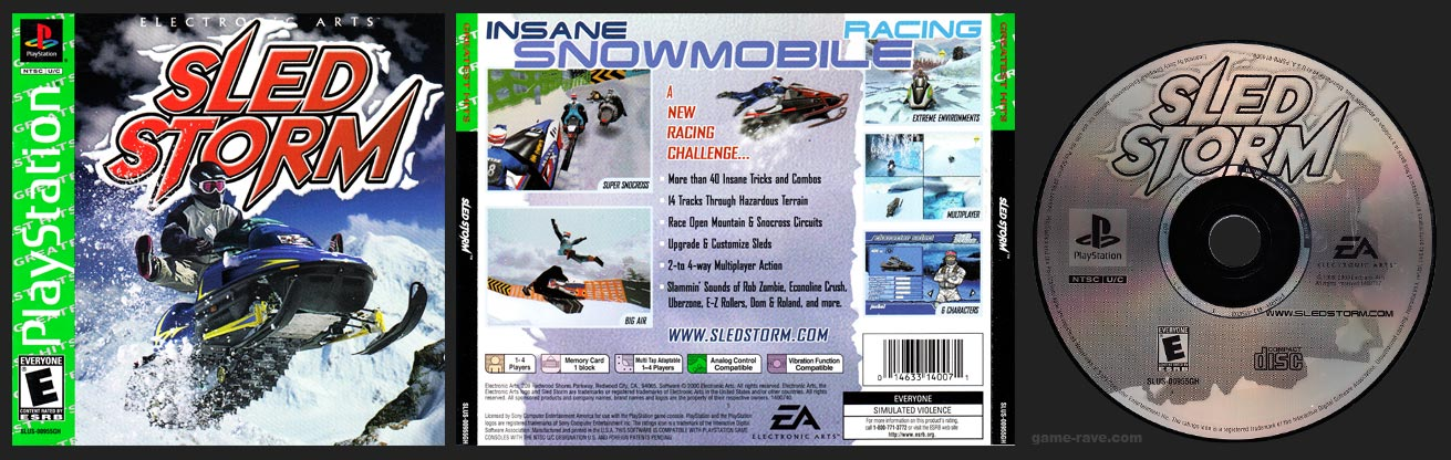 PlayStation Sled Storm Greatest Hits