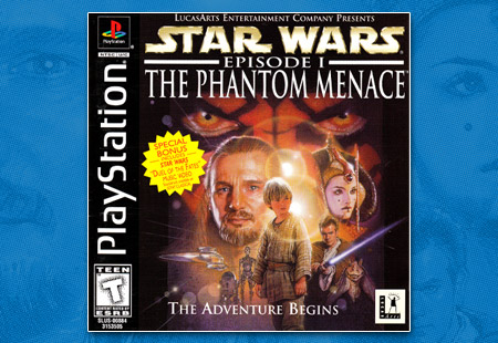 PlayStation Star Wars Episode 1 The Phantom Menace
