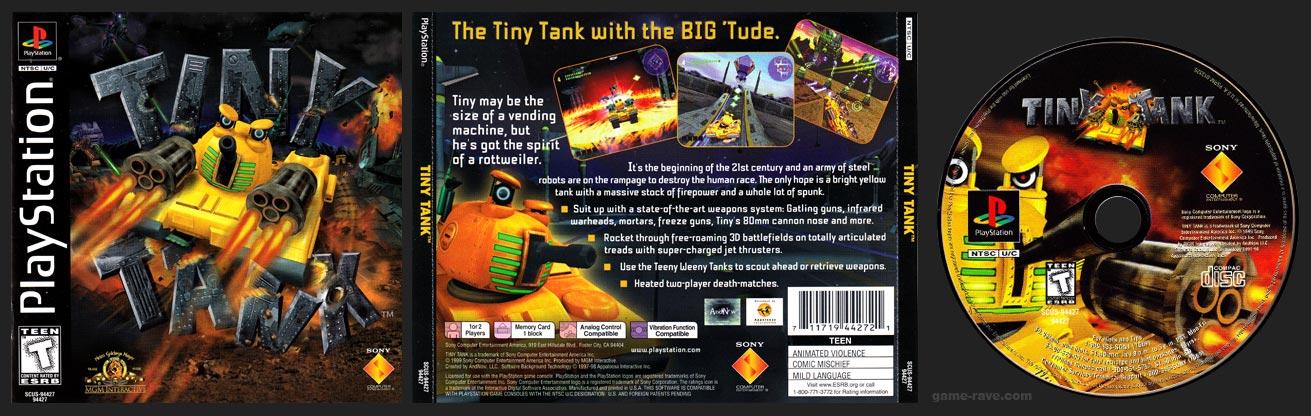 PlayStation Tiny Tank