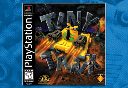 PlayStation Tiny Tank