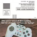 PlayStation Bass Landing Subscription Card
