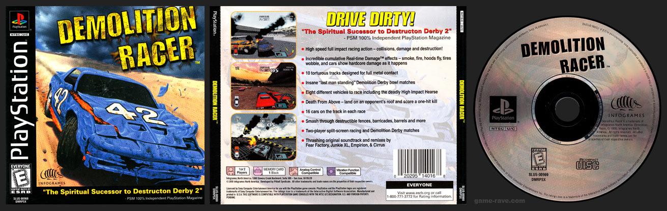 PlayStation Demolition Racer