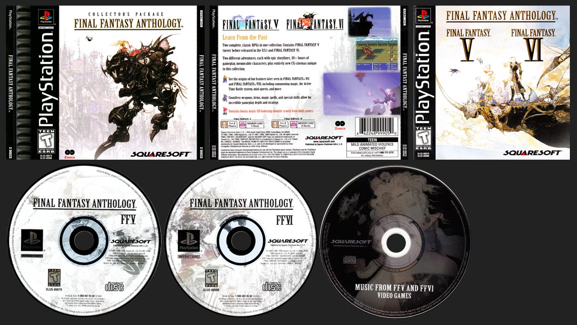 PlayStation Final Fantasy Anthology