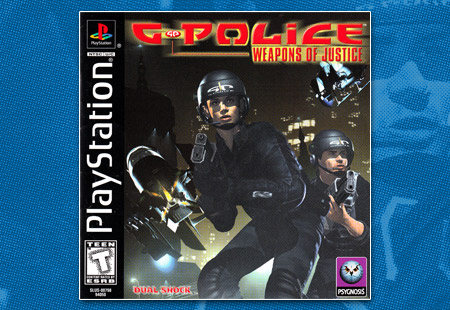 PlayStation G-Police: Weapons of Justice