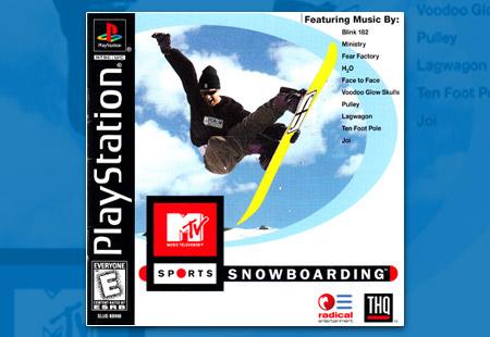 PlayStation MTV Sports: Snowboarding