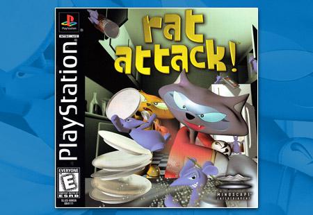 PlayStation Rat Attack!