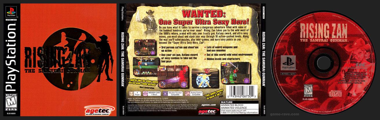PSX PlayStation Rising Zan Black Label Retail Release