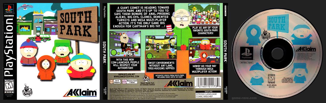 PSX South Park Release