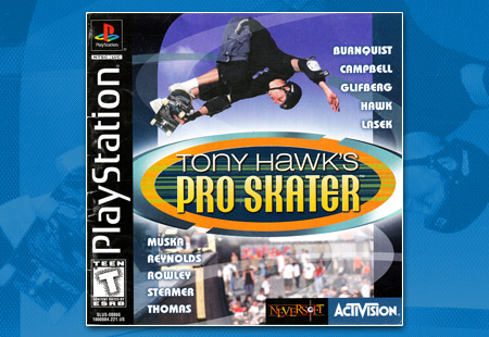 PlayStation Tony Hawkl's Pro Skater