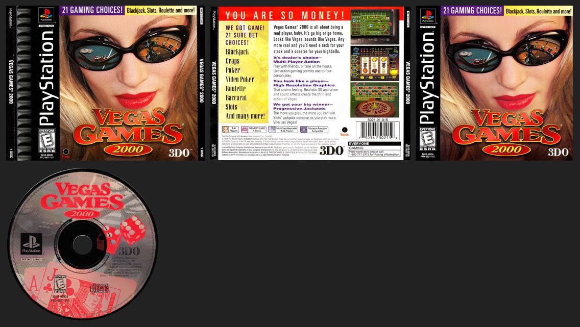 PlaySTation Vegas Games 2000