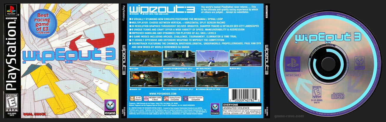 PlayStation Wipeout 3
