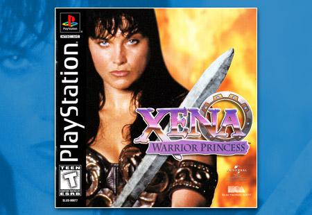 PlayStation Xena Warrior Princess