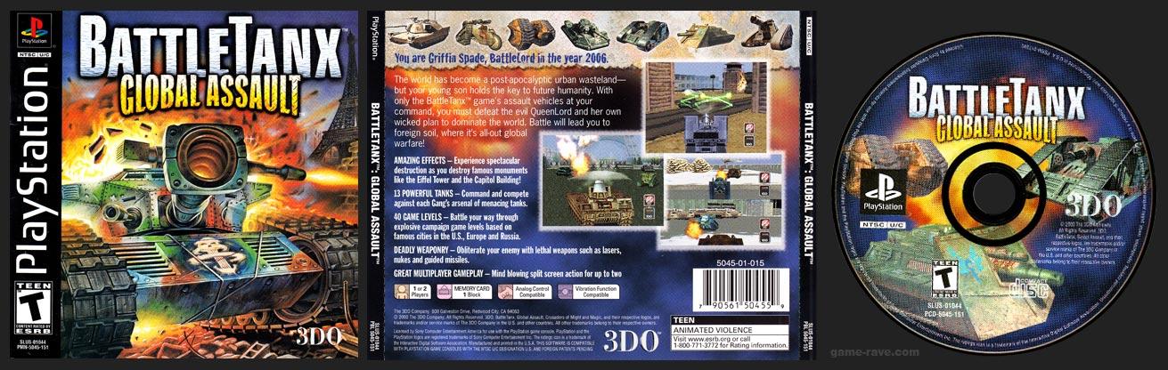PlayStation BattleTanx: Global Assault