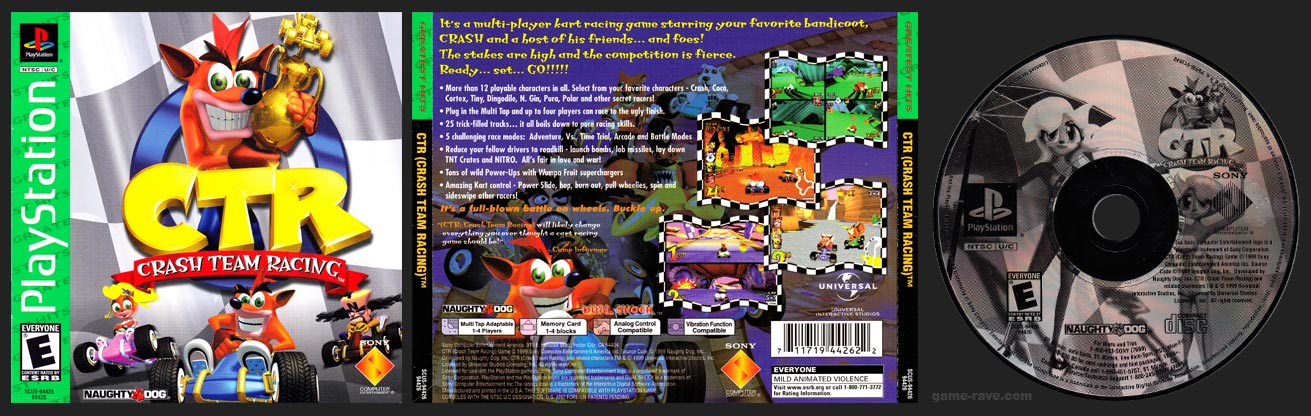 PlayStation Crash Team Racing