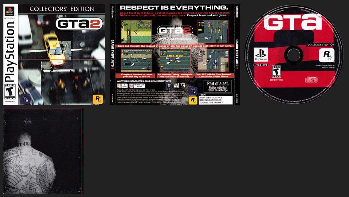 PlayStation Grand Theft Auto 2