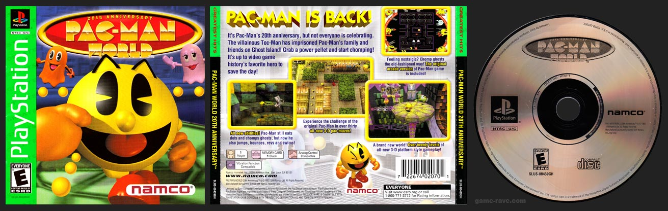 PlayStation Pac-Man World