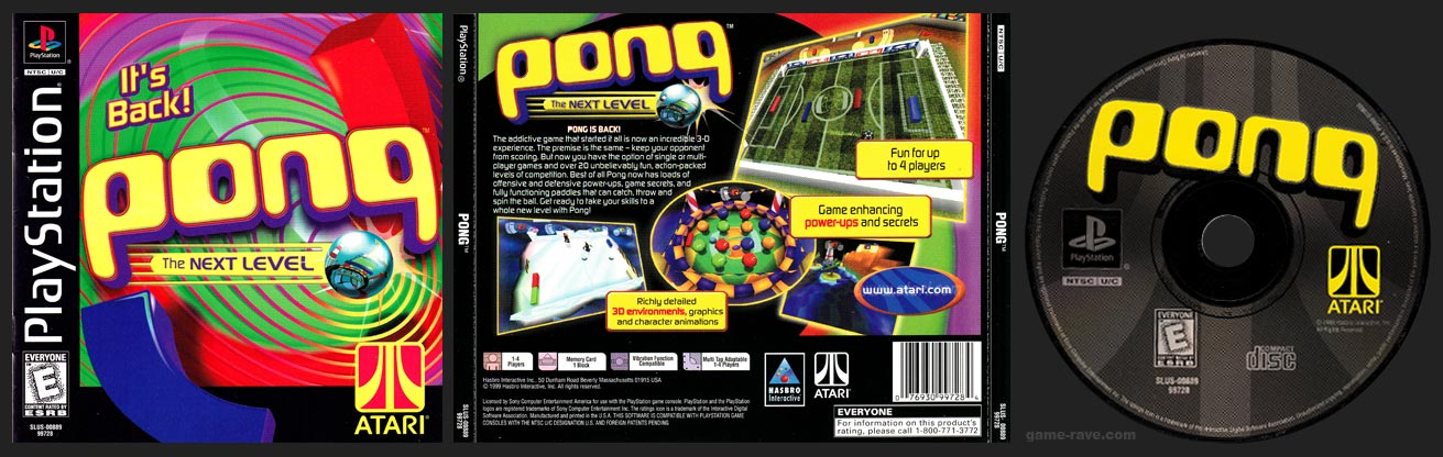 PlayStation Pong