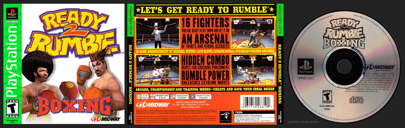 PlayStation Ready 2 Rumble Boxing