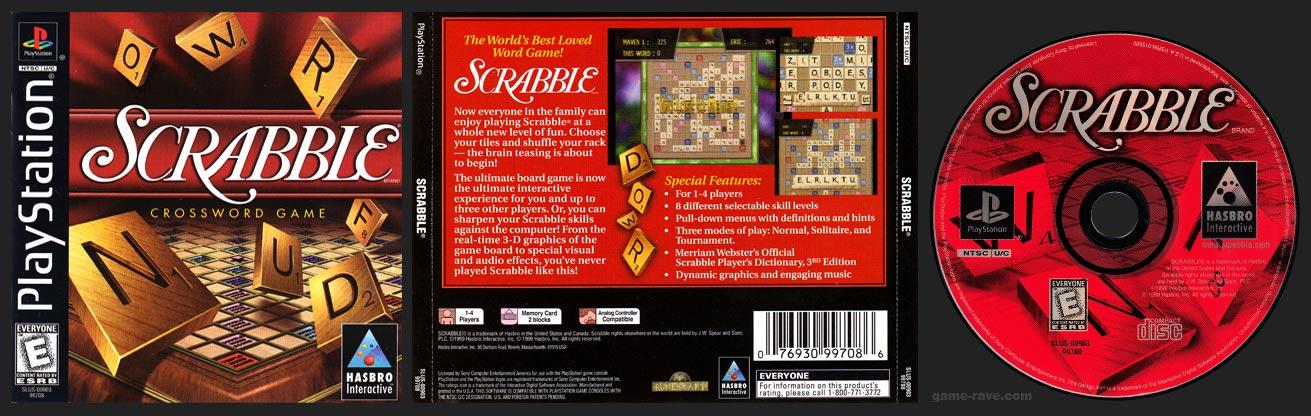 PlayStation Scrabble