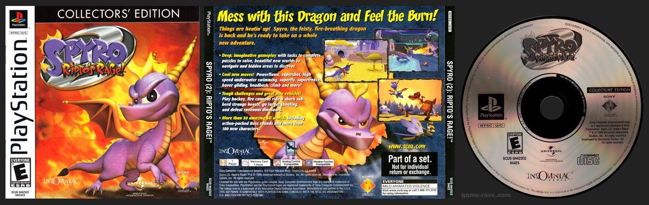 PlaySTation Spyro 2: Ripto's Rage!