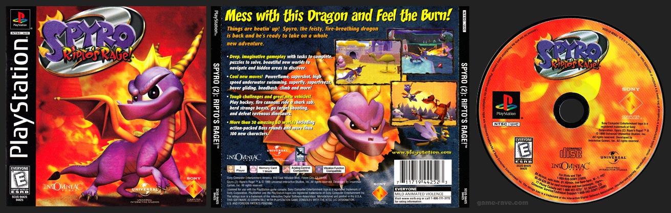 PlayStation 2 Spyro 2: Ripto's Rage!