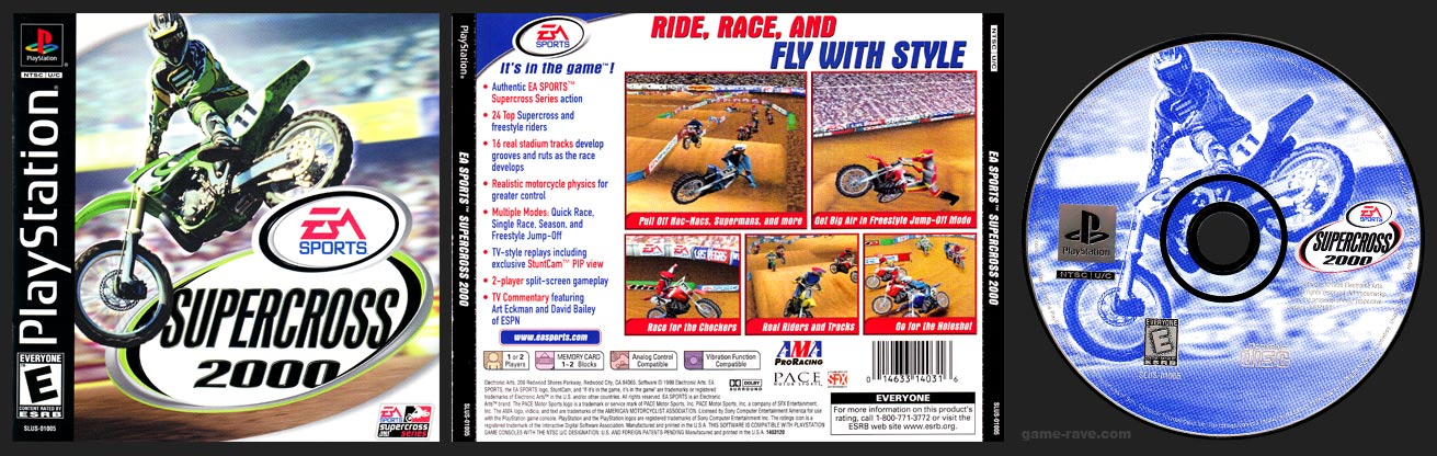 PlayStation Supercross 2000