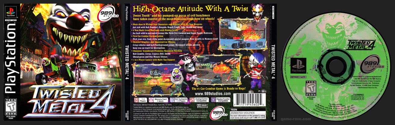 PlayStation Twisted Metal 4
