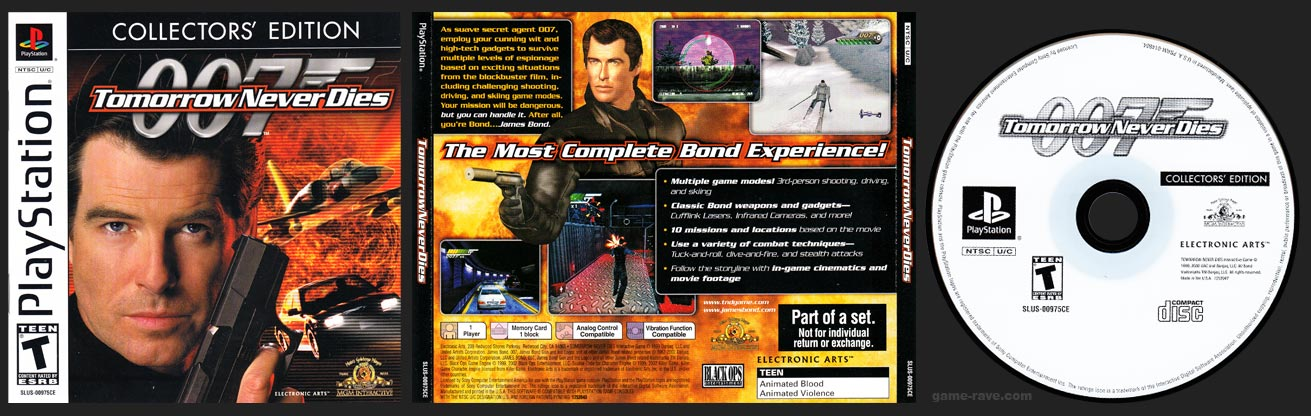 PSX PSX: 007: Tomorrow Never Dies Collector's Edition