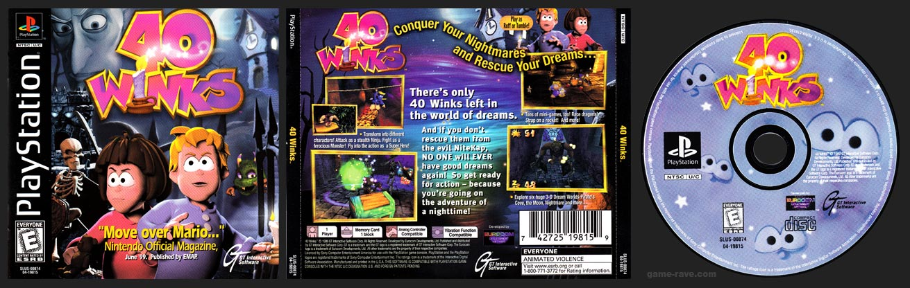 PlayStation 40 Winks
