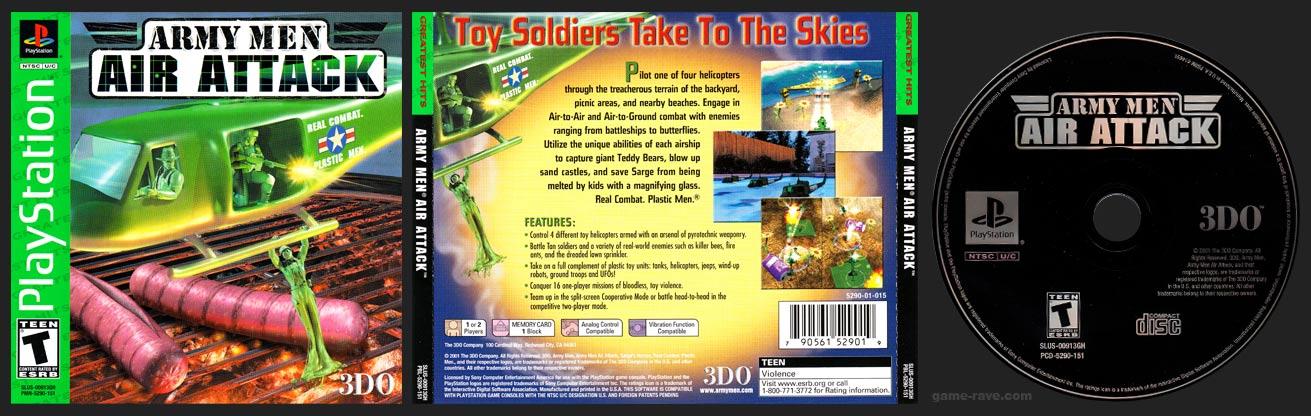 PlayStation Army Men: Air Attack