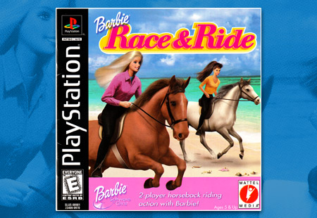 PlayStation Barbie: Race & Ride