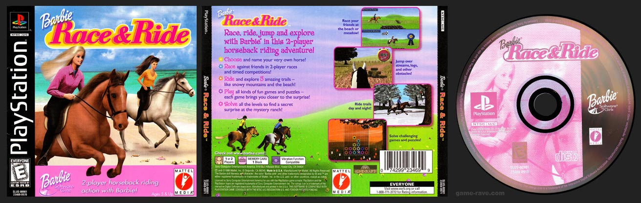 PlayStation Barbie Race & Ride