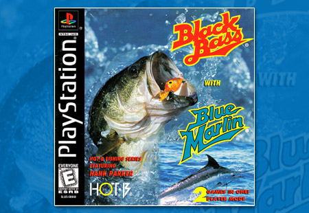 PlayStation Black Bass with Blue Marlin