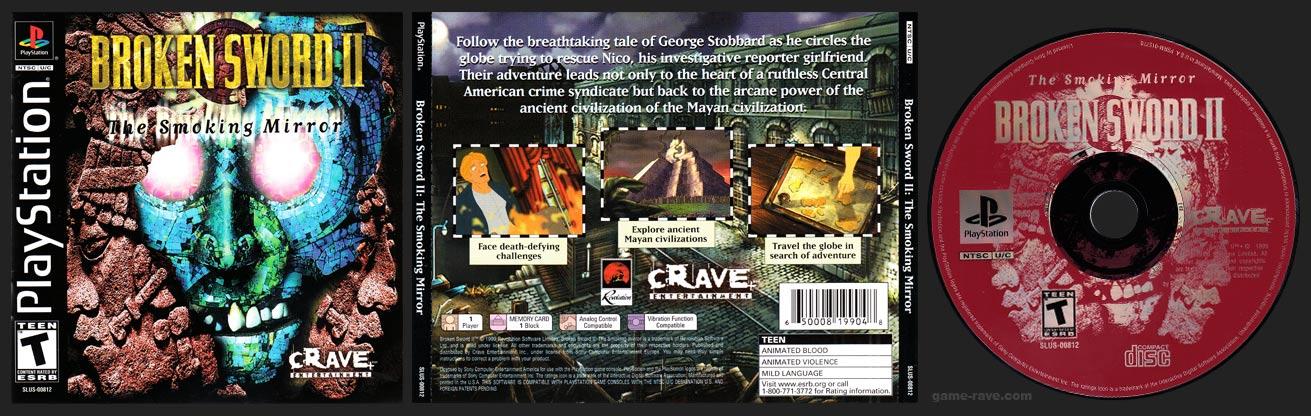 PlayStation Broken Sword II: The Smoking Mirror