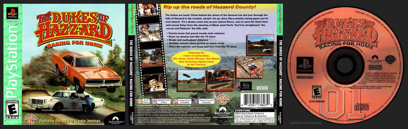 PlayStation Dukes of Hazzard Racing For Home