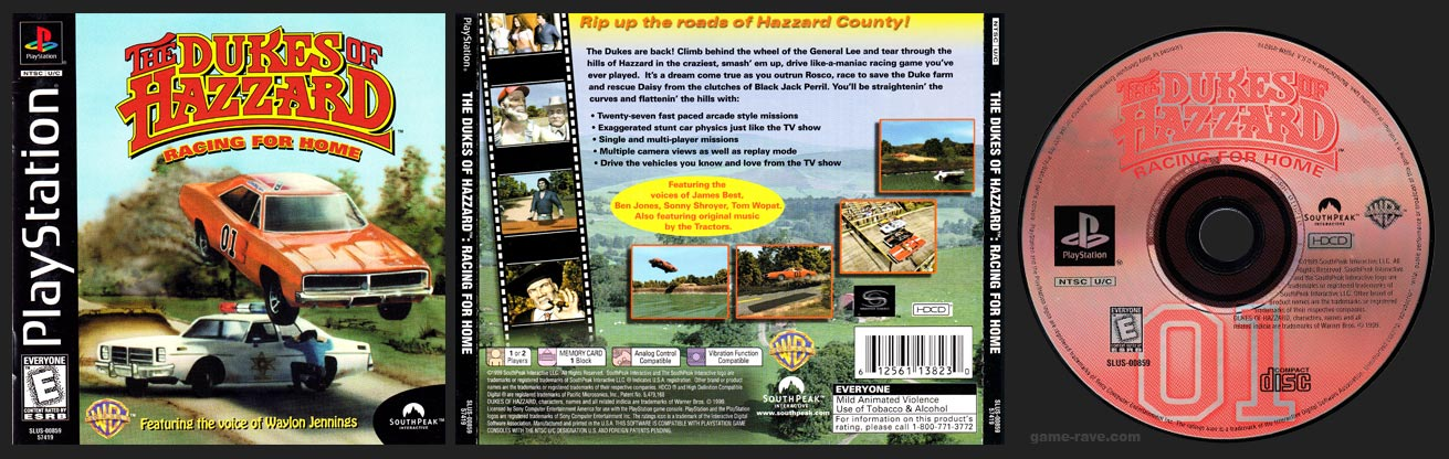 PlayStation Dukes of Hazzard: Racing For Home, The