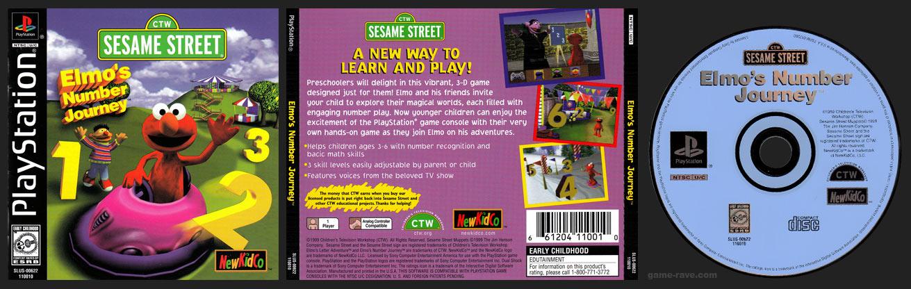 PlayStation Elmo's Number Journey