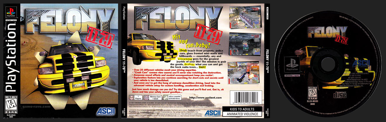 PlayStation Felony 11-79