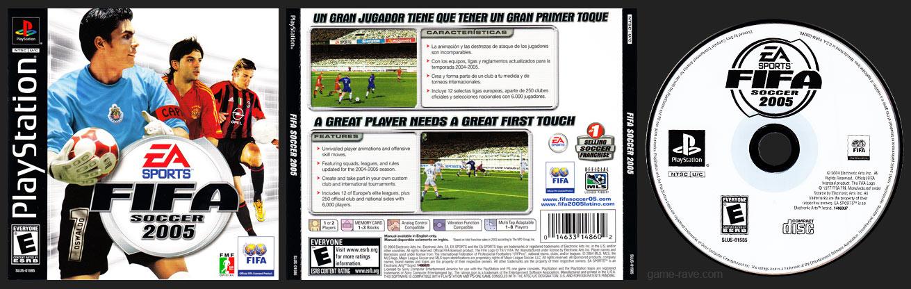 PlayStation FIFA Soccer 2005