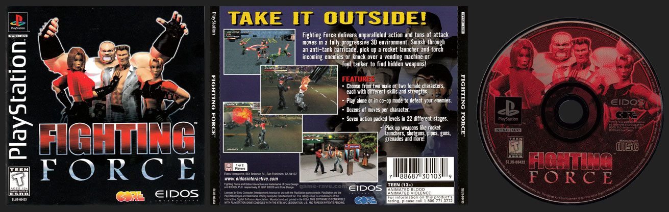 PlayStation Fighting Force