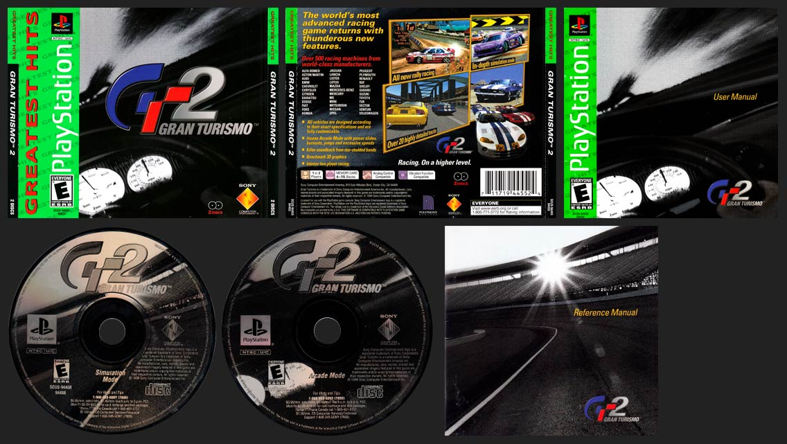 PlayStation Gran Turismo 2 Greatest Hits